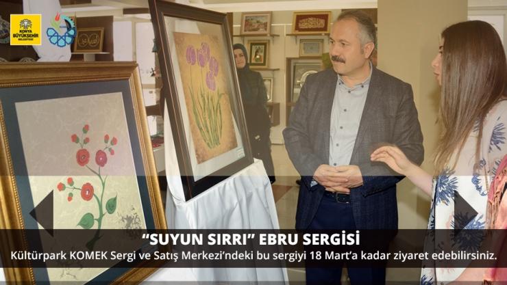 """""""SUYUN SIRRI"""" EBRU SERGİSİ"""