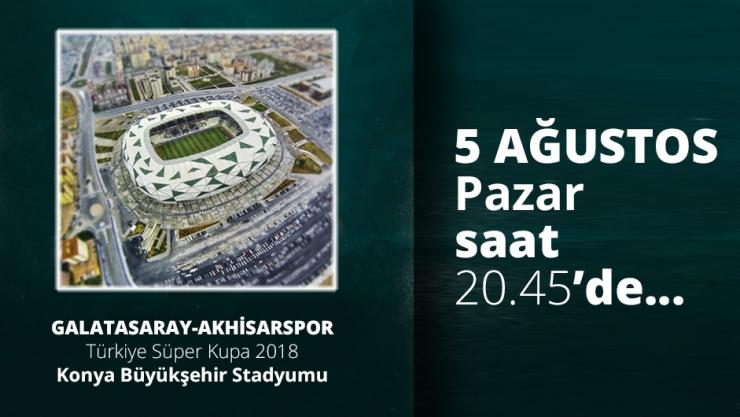 Galatasaray Akhisarspor Maçı Türkiye Süper Kupa 2018