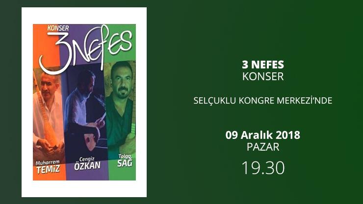 Konya'da 3 Nefes Konseri