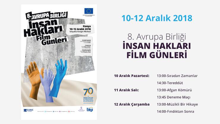 Konya'da İnsan Hakları Film Festivali