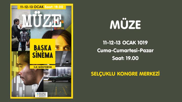 Müze Sinema Filmi Konya'da