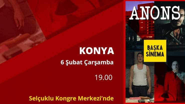 Anons Filmi Konya'da