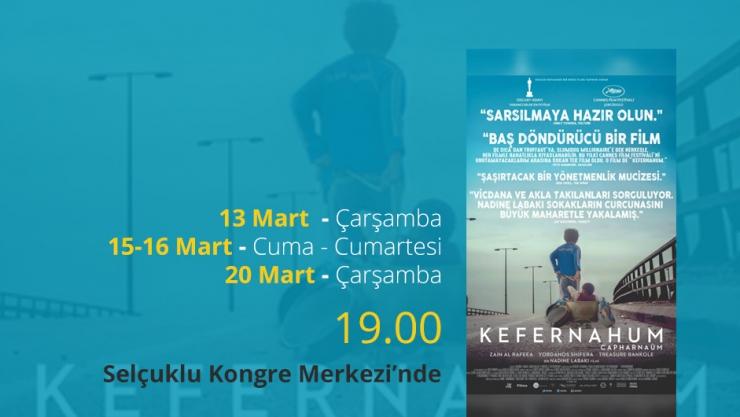 Kefernahum Sinema Filmi Konya'da